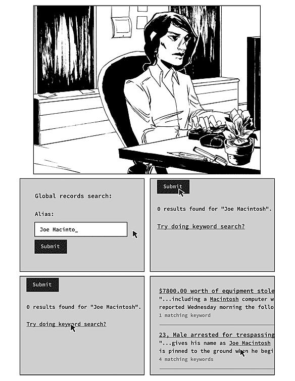 comic page #6