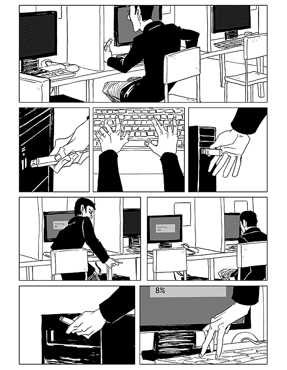 comic page #11